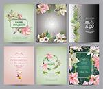 圣�Q�花卉祝福卡