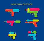 彩色玩具水枪