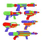 彩色夏季水枪