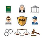 创意法律图标