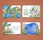 夏季沙滩派对卡片