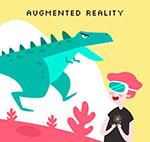 AR技术下的恐龙