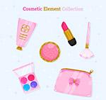 粉色化妆品设计