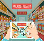 AR拍摄超市的手机