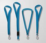 蓝色挂绳设计