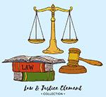 彩绘法律元素