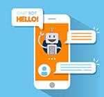 手机上的聊天机器人