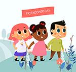 国际友谊日儿童