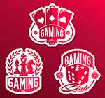红色游戏元素标签