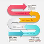 箭头商务信息图