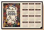 2020年鸟类年历