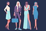8款时尚女子
