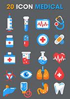 创意医疗图标