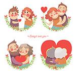 创意热恋情侣