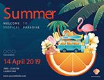 时尚夏季度假海报