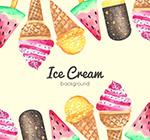 彩绘冰淇淋框架