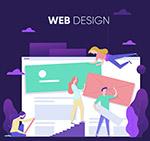 网页设计人物