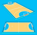 创意手球场设计