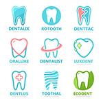 创意牙齿标志