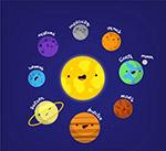 太�系八大行星