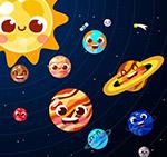 太阳系八大行星