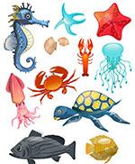 创意海洋动物