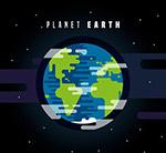 美��太空中的地球