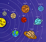彩绘太阳系