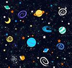 彩色宇宙星球