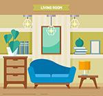 创意彩色客厅设计