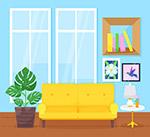 彩色温馨客厅设计