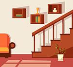 创意客厅楼梯