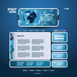 网站模板设计
