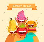 卡通世界粮食日