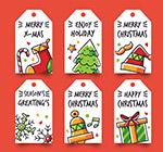 圣诞节吊牌