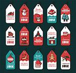 圣诞节销售吊牌