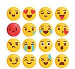 黄色圆脸表情