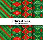 圣诞节图案无缝背景