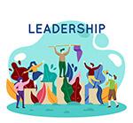 抽象领导团队人物