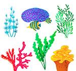 6款彩色珊瑚