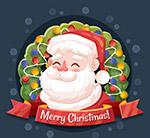 微笑圣诞老人头像