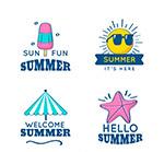 你好夏季标签