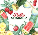 夏季水果框架
