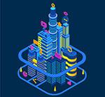 立体智能城市建筑