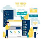 网页设计概念图