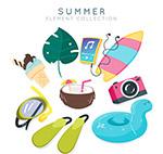 夏季旅行物品