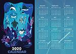 2020海底世界年历