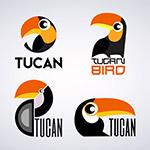 创意巨嘴鸟标志