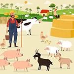 �r�鲛r夫和家畜