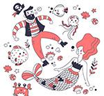 海盗和美人鱼